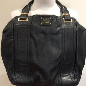 Black Lindsey Lohan purse black like new